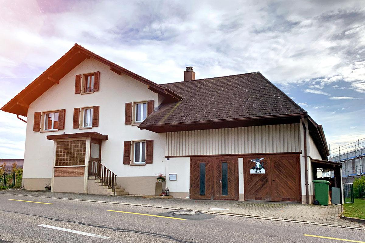 Einfamilienhaus mit Ausbaupotential zu 6.5 Zimmer